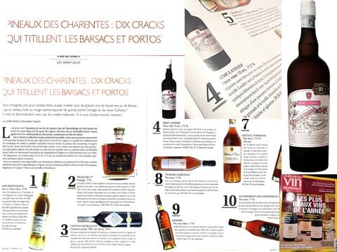 Article RVF_Mai 2017 Pineau des Charentes